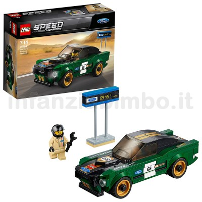 Costruzioni Lego Speed Champions Ford Mustang Fastback