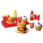 Set Chef Hamburger Ecoiffier