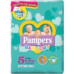 Pannolini Pampers Baby Dry Junior 11-25 Kg Misura 5 (17pz)