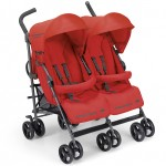 Passeggino Gemellare Cam Twin Flip Red