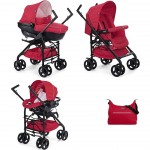 Trio Chicco Sprint Black Red Passion